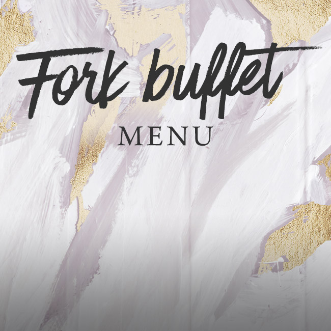 Fork buffet menu at The Golden Heart