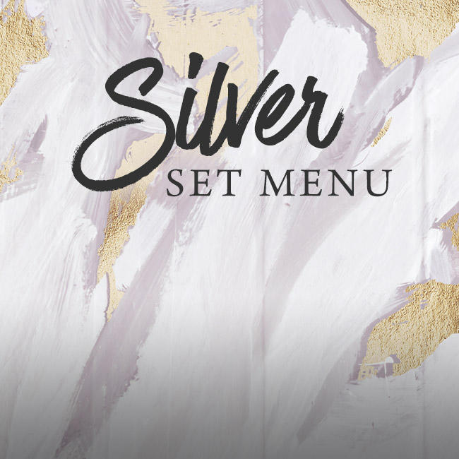Silver set menu at The Golden Heart
