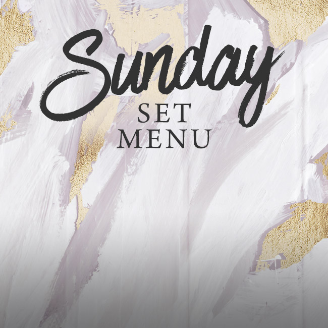 Sunday set menu at The Golden Heart