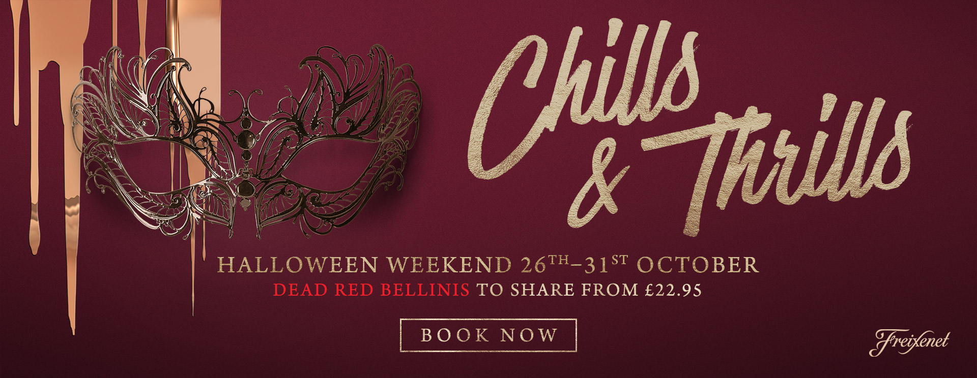 Chills & Thrills this Halloween at The Golden Heart